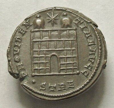 Constantine I Ae 3 Trier Mint With Old Collection Ticket (286C)