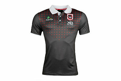 X Blades Mens St George Illawarra Dragons NRL 2018 Rugby Polo Shirt T-shirt Top