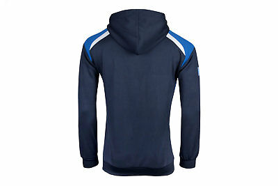 VX-3 Mens Help for Heroes Scotland 2018/19 Hooded Rugby Sweat Blue Top Sports