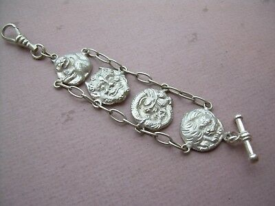Antique Victorian Chinese Silver Watch Chain (Ladies)?