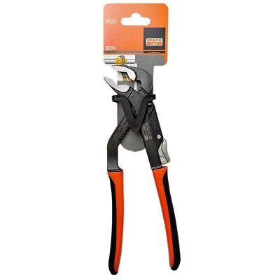 Bahco 8224 Ergo Slip Joint Plier Water Pump Pliers Grips 250mm