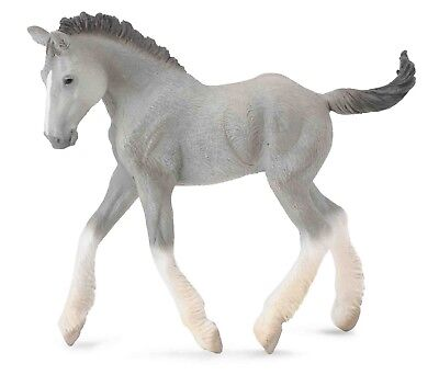 Breyer CollectA 88575 Shire horse Foal  -  exceptional miniature  <><