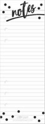 Notes - Planner Essentials Double-Sided A5 Bookmark Tablet