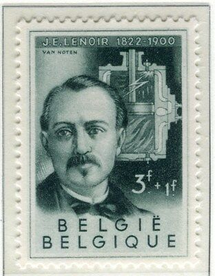 BELGIUM;   1955 early  Scientists Fund issue Mint hinged 3Fr. value