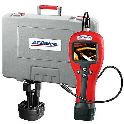 AC Delco #ARZ604: Heavy Duty Inspection Camera. 3in LCD Screen & 6-1/2in Cable.