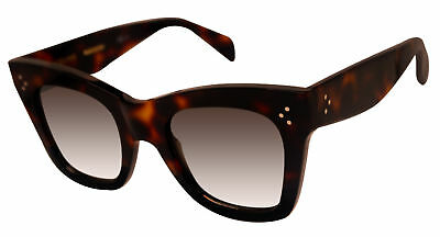 97be60a269a0 CELINE 41090 S-AEA-Z3 HAVANA tortoise frame brown 50mm lens NEW sunglasses  -  149.98