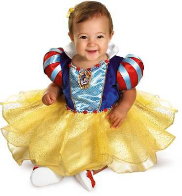 Licensed Disney Princess Snow White Classic Baby Infant Girl Halloween Costume
