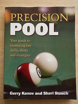 Precision Pool~Kanov & Stauch~Key Skills Shots & Strategies~246pp P/B~1999
