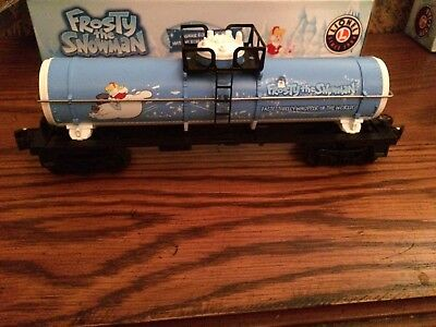 Lionel 83164 Frosty the Snowman Tank Car New in Box!