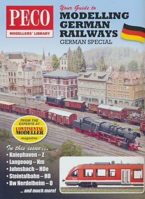 Peco PM-207 - Your Guide to German Railway Modelling - NEW 116 Page BOOK - 1stpo