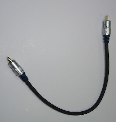 30cm RCA Cable for Subwoofer or Digital Coaxial Audio or Composite Video SR950