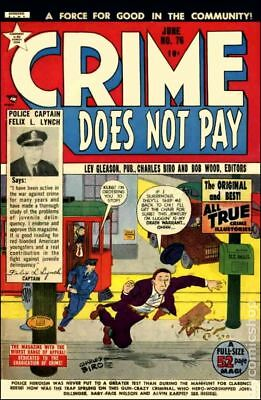 Crime Does Not Pay #76 1949 GD+ 2.5