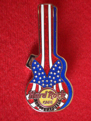 HRC Hard Rock Cafe Indianapolis Stars and Stripes Guitar Case Series 2008 LE500
