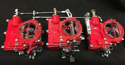 R-3 HOT ROD SB CHEVY ROCHESTER SMALL BASE 2G CARB FAST IDLE LINKAGE TRI POWER