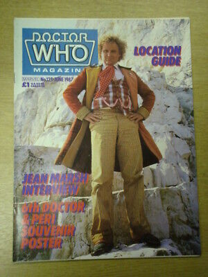 Doctor Who #125 1987 Jun British Weekly Monthly Magazine Dr Who Dalek Cybermen
