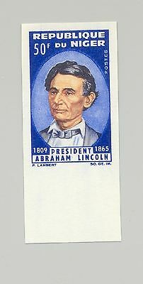 Niger #151 Lincoln 1v Imperf
