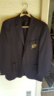 BSA, Blue Explorer Dress Blazer, Size 40/42