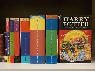 J.K.Rowling - Harry Potter (Full Set) - 7 Books Collection! (ID:52612-621)