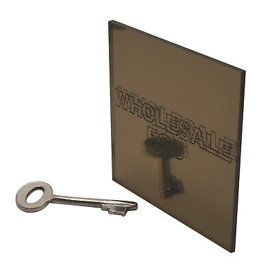 Acrylic Perspex® Bronze 2404 Mirror Plastic Sheet / A5 A4 A3 / 3mm Thickness
