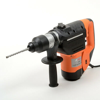 """1-1/2"""" Hammer Drill Set with Chuck Variable Speed W/Case"""