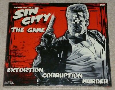 Sin City Board Game, New In Sealed Box + Frank Miller Signed Sin City Comic