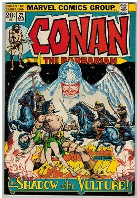 CONAN THE BARBARIAN 22 VG+ Jan. 1973