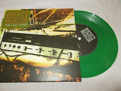 "The All American Rejects - The Last Song - Uk 7"" Pic/slv  Green Vinyl"