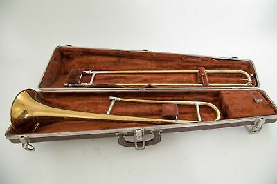 F.e. Olds Special Tenor Trombone, Los Angeles Ca, Olds Mouthpiece And Case