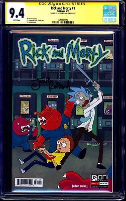 Rick and Morty #1 CGC SS 9.4 signed Justin Roiland 1st PRINT RARE NM
