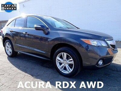 2013 Acura RDX Technology Package 2013 Acura RDX Technology Package SUV Used 3.5L V6 24V Automatic AWD