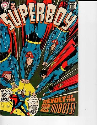 DC Comics Superboy #155 APR 1969 VG/F 5.0