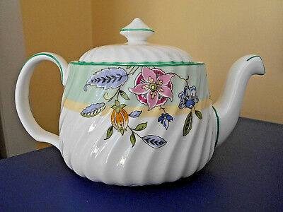 Minton China Haddon Grove  Small Teapot Made In England 2003 Childrens