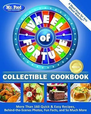 Mr. Food Test Kitchen Wheel of Fortune(R) Collectible Cookbook: More Than 160 Qu