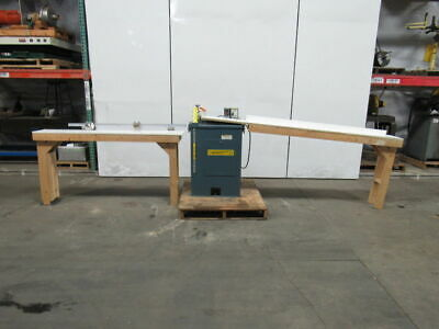 "Whirlwind 1000L 14"" Left Hand Up Cut Saw W/Bed Extensions"