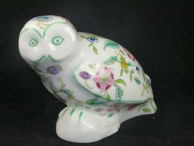 BONE CHINA MINTON Haddon Hall Bird Figurine OWL John Wadsworth B.1491