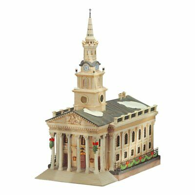 Dept 56 Dickens Village- St. Martin N The Field Church 58471 Rare Find Brand New
