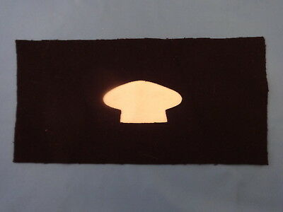 Us Army Infantry Cook Specialty Brassard 1872 Pat Arm Band Blue Wool Indian War