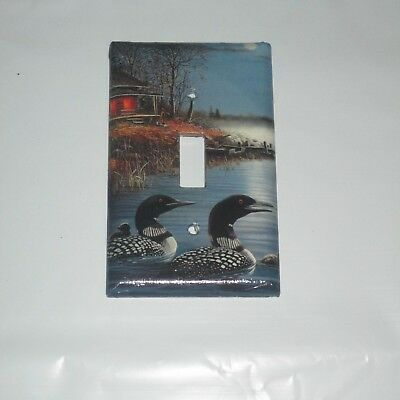 Classic Loon Loons Wild Bird Animal Light Switch Cover Plate
