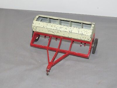 Vintage International Harvester Grain Drill 1:16 Ertl for Parts
