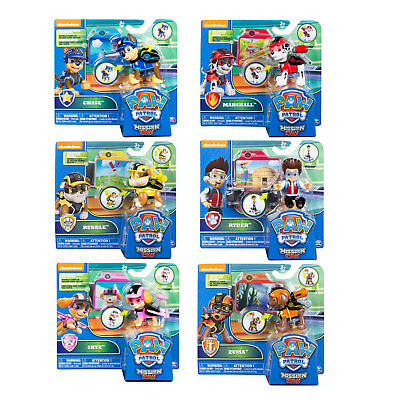 PAW Patrol Mission paw Action Pack Hero Pup CHOOSE YOUR FAVOURITE
