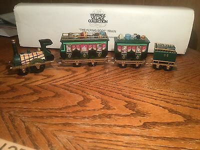 "Dept 56 Heritage Village Collection ""The Flying Scot"" Train. #5573-5"