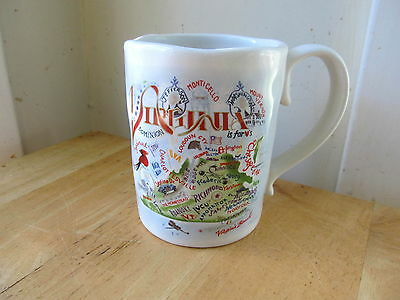 Catstudio Virginia Mug From The Geography Collection