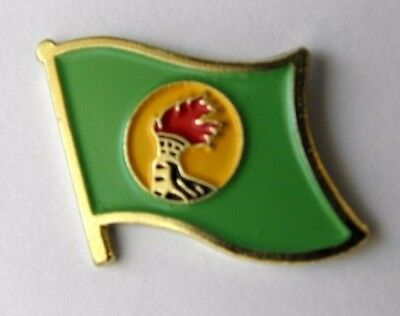 Zaire National Country World Flag Lapel Pin Badge 1 Inch