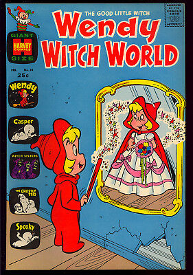 Wendy Witch World #38 High Grade Harvey File Copy Giant 1971 VF-NM