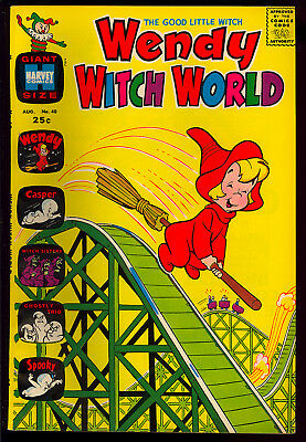 Wendy Witch World #40 High Grade Harvey File Copy Giant 1971 VF