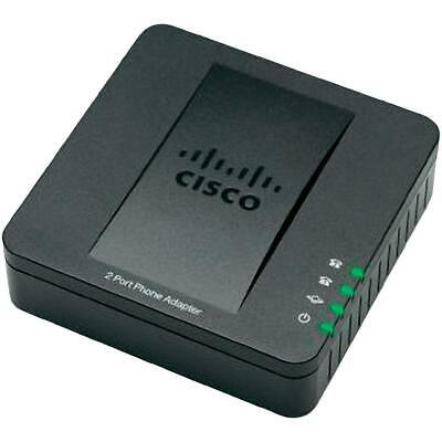 Cisco SPA112 2 Port Analogue Gateway Phone Adapter (ATA) for VOIP