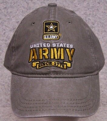 e7d104855c4 Embroidered Baseball Cap Military Army Emblem Logo NEW 1 hat size fits all