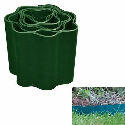 Green Flexible Lawn Garden Grass Gravel Path Driveway Edging Edge Boarder Fence
