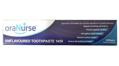 Oranurse 50ml Unflavoured Toothpaste Available in Multi Pack
