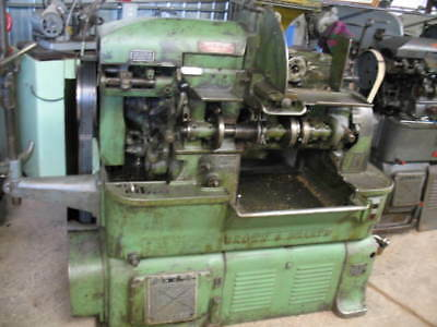 "Brown & Sharpe ""og"" Double Chain Drive Screw Machine + Tooling ***vgc***"
